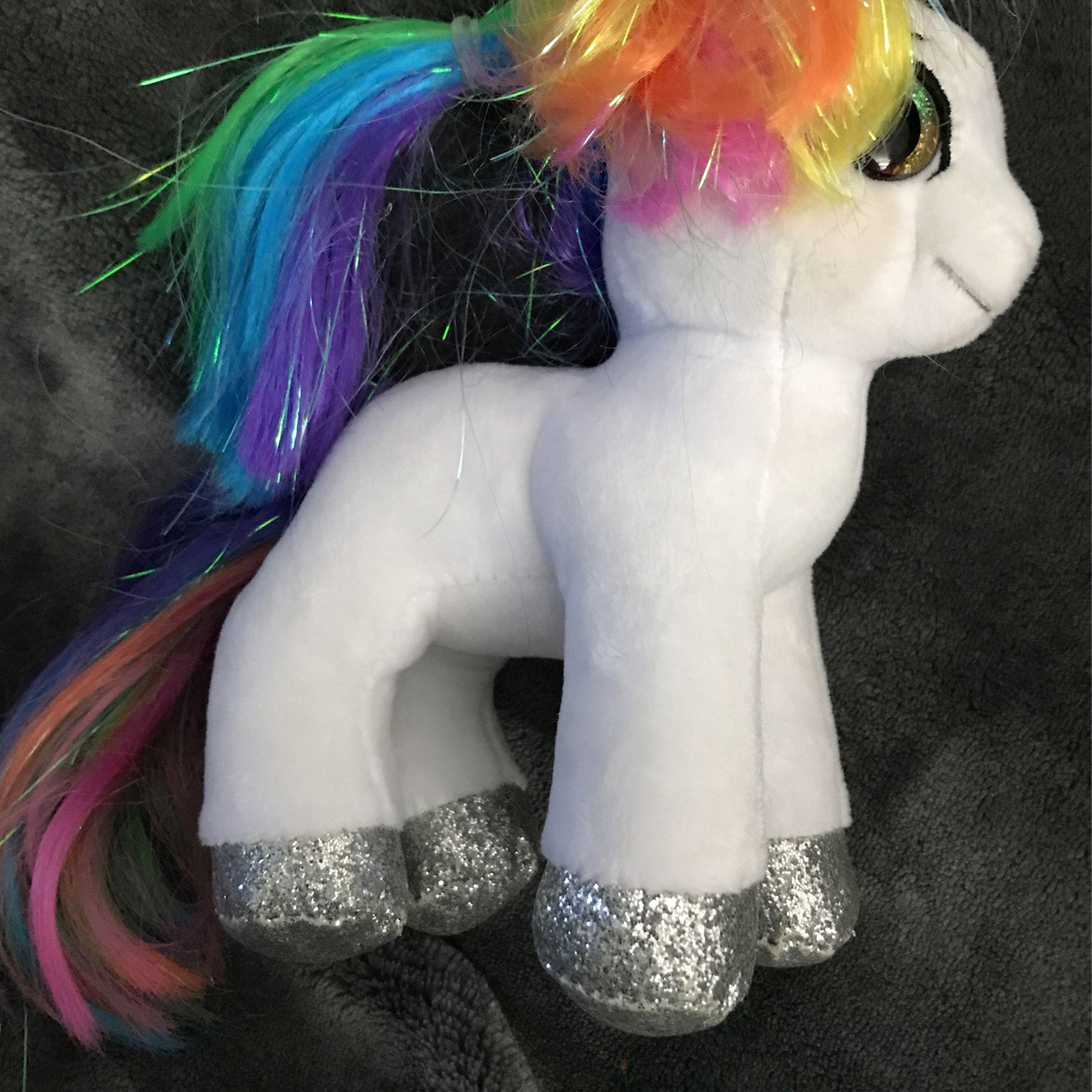 """6"""" TY pony stuffed animal"""