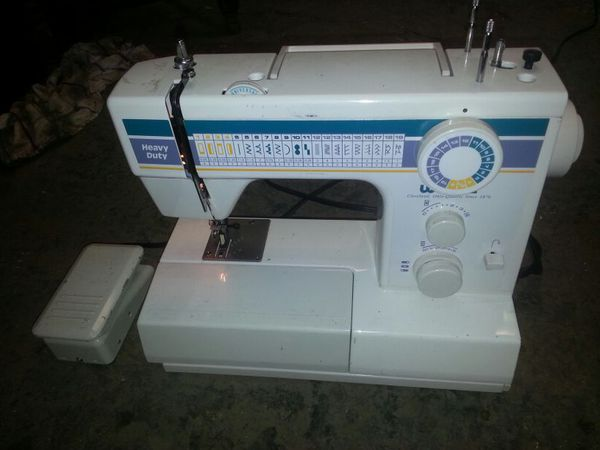 White Sewing Machine Model 40 For Sale In Hayward CA OfferUp Best White Heavy Duty Sewing Machine