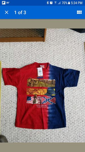 Gettysburg t-shirt small child for Sale in Ranson, WV