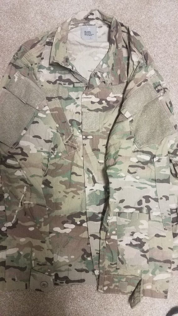OCP FRACU Jacket and Trousers (Description) for Sale in Wichita, KS -  OfferUp