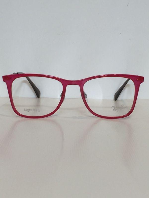 444f5503ff Ray Ban RB 7086 5641 Red wayfarer LightRay Eyeglasses 51mm for Sale ...