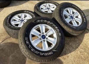 "Photo 17"" Ford F150 wheels and Goodyear tires..Like New"
