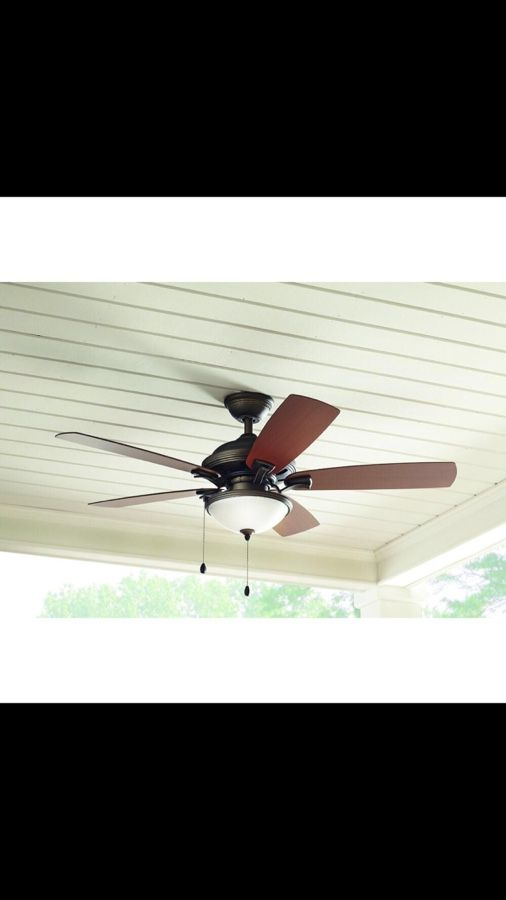 Home decorators collection north lake 52 in indooroutdoor oil rubbed bronze ceiling fan 99 home garden in dallas tx offerup