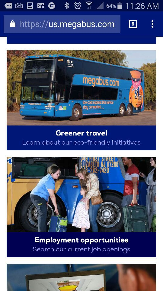 Megabus tickets from Atlanta to Charlotte and Charlotte to Atlanta GA for  Sale in Winston-Salem, NC - OfferUp