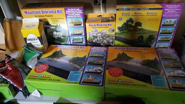 Diorama kits new unused over 200 dollars worth half off for Sale in Fall  River, MA - OfferUp