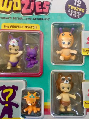 Adorable TWOZIES * 6 Babies and 6 Pets / Toys and collectables NEW in the Box for Sale in Lincolnia, VA