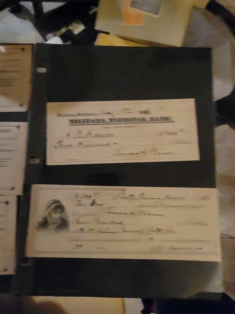 Old checks