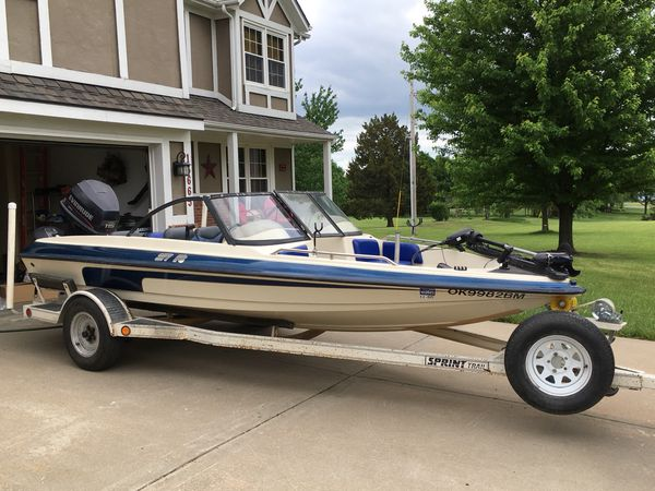 1997 sprint 277 f/s with 115 evinrude spl