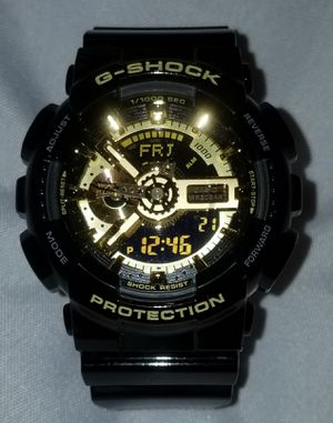 G SHOCK BLACK & GOLD WATCH for Sale in Euclid, OH