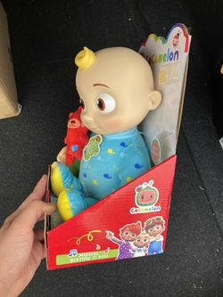 "Cocomelon Roto JJ Doll Bedtime Soft 10"" Plush Sing Toy Youtube Thumbnail"