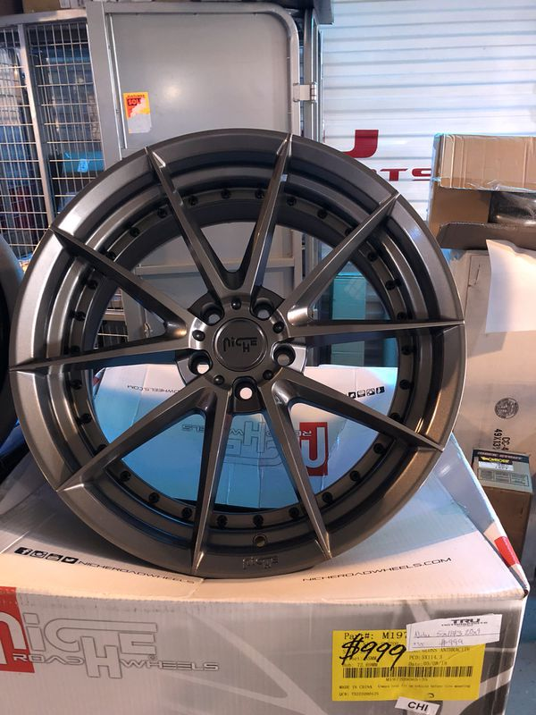 Niche 5x114.3 20x9 inch wheels with an offset of 35mm brand new ...