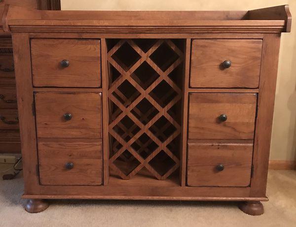 Broyhill Attic Heirlooms Wine Cabinet