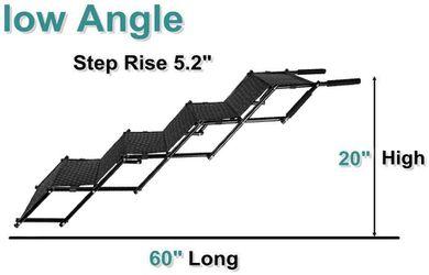 Flightbird Pet Ramp Dog Car Step Stairs, Supports 100 lb, Thumbnail