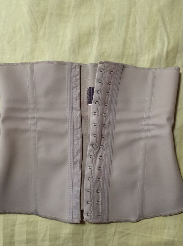 "f5a1280f0aa POST PREGNANCY SHAPEWEAR - SQUEEM ""Perfect Waist"" contouring cincher - Beige  - Small"