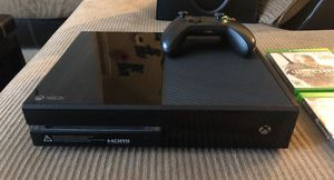 Used, Xbox one 500gb 1 controller 4 games for sale  Broken Arrow, OK