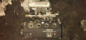 Photo 1991 Honda Civic CRX/Hatch Back Si complete Head and intake manifold