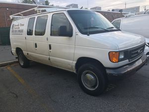 2006 ford e250 cargo work van for Sale in Germantown, MD