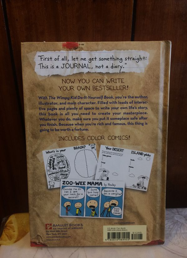 Diary of a wimpy kid do it yourself book books magazines in diary of a wimpy kid do it yourself book books magazines in new rochelle ny offerup solutioingenieria Images