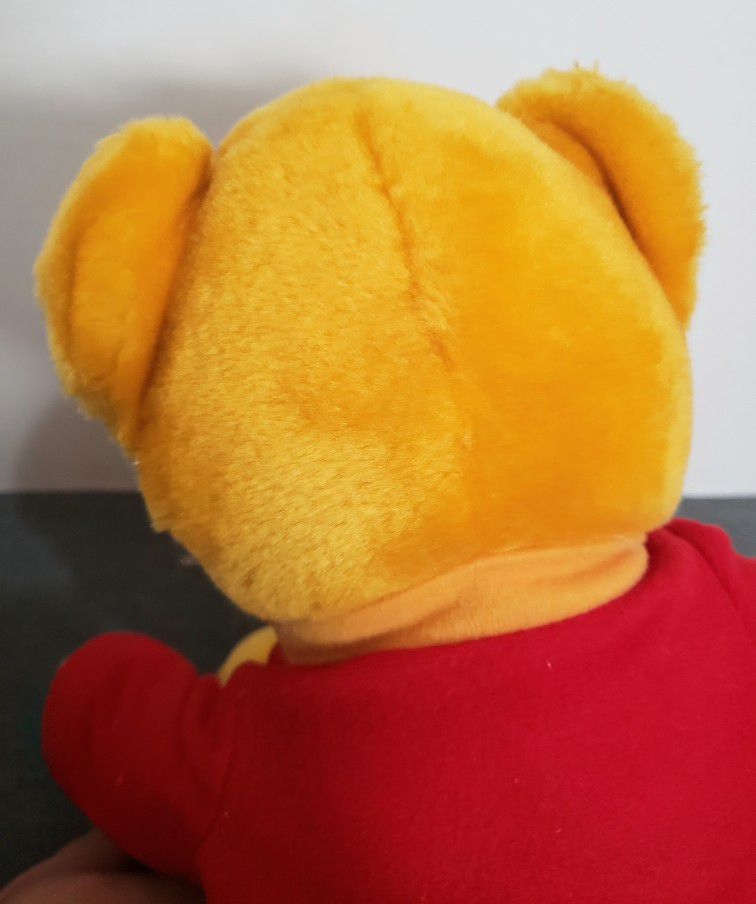 Vintage Pooh Bear Plush 13 in.