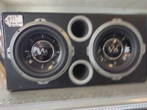 VM audio 10' speakers in box for Sale in Azalea Park, FL