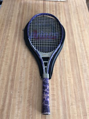 Purple Tennis Racket with Cover for Sale in Playa del Rey, CA