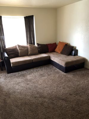 New and Used Black sectional for Sale in Tulsa, OK - OfferUp