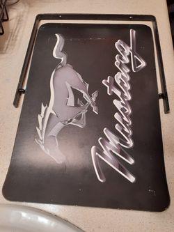 Ford mustang sign Thumbnail