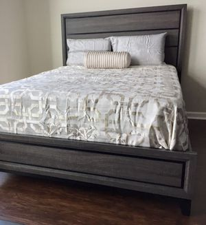 New Gray King Bed for Sale in Silver Spring, MD