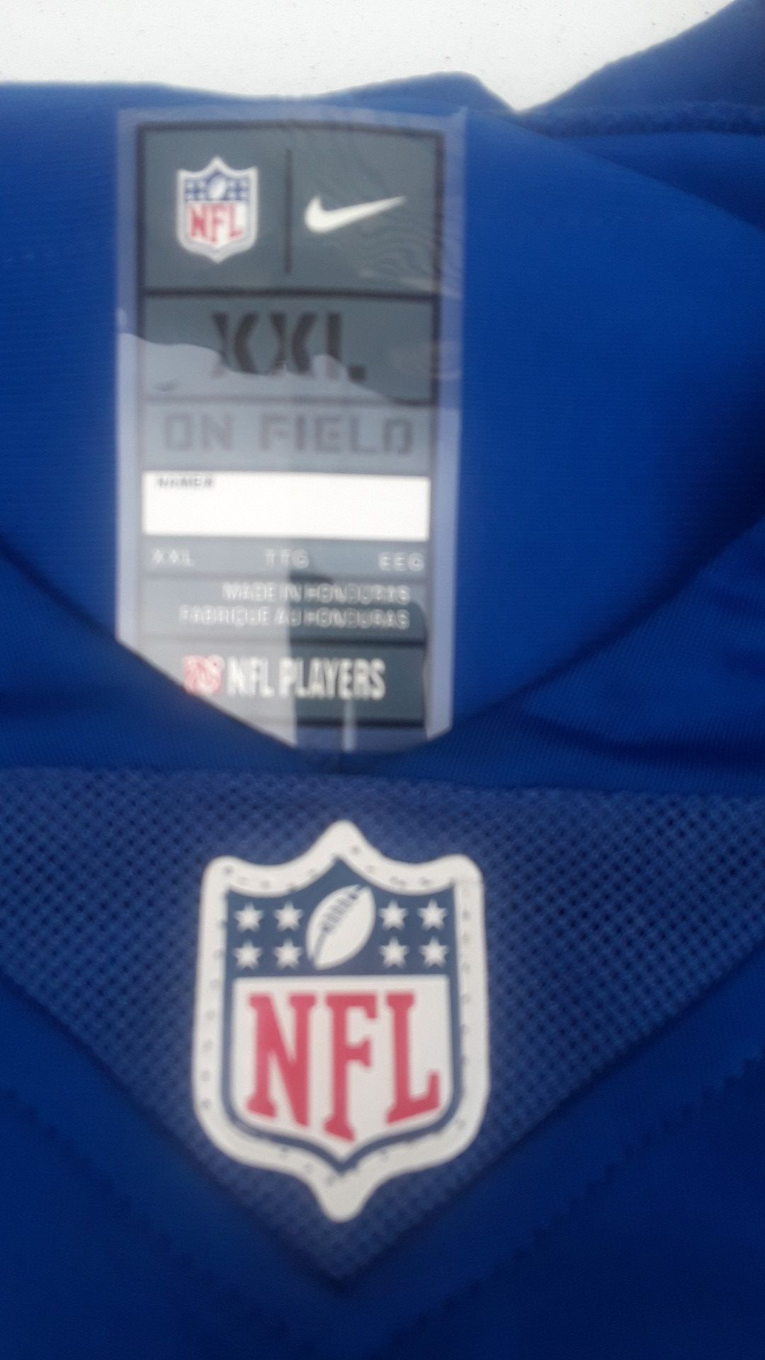 N.F.L CHARGERS JERSEY