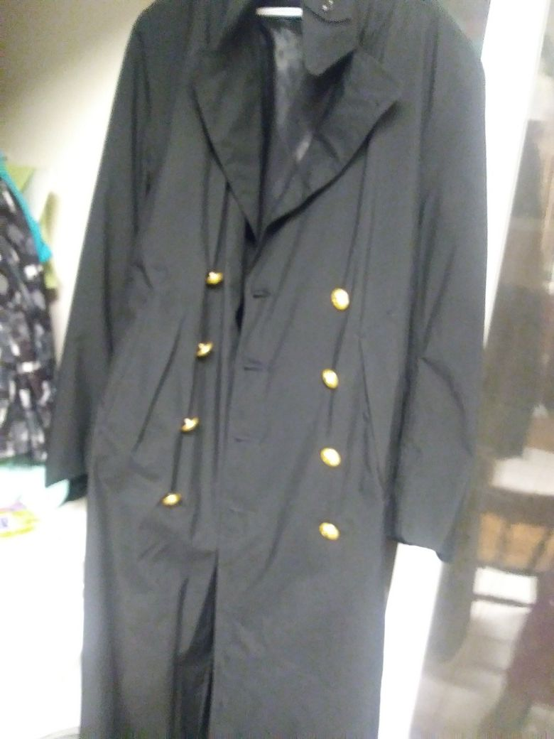 United States Naval Academy Trench coat size large - xl