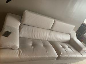 White leather New Sofas for Sale in Alexandria, VA