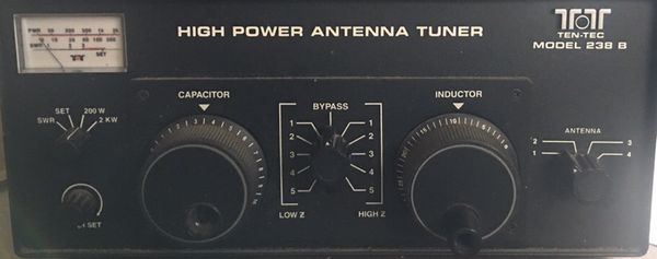 Ten-Tec 238B High Power Antenna Tuner for Sale in Colorado Springs, CO -  OfferUp