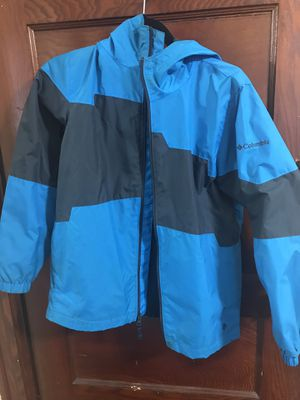 Baby Blue & Dark Blue Columbia Jacket for Sale in Washington, DC