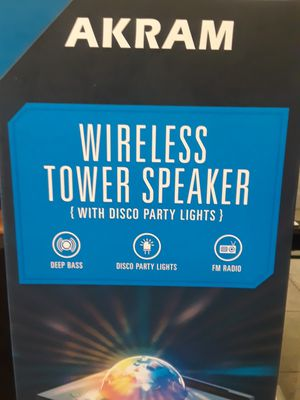 Akram tower speaker for Sale in Orlando, FL
