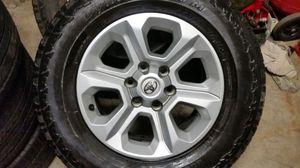 Photo Wheels and tires 17 6 lug Toyota Tacoma