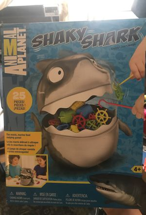 Never used Shaky Shark Kids Game for Sale in Brooklyn, NY