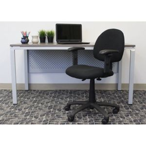 Boss Office & Home Black Perfect Posture Deluxe Office Task Chair with Adjustable Arms (6 pieces, each is $49) for Sale in Houston, TX