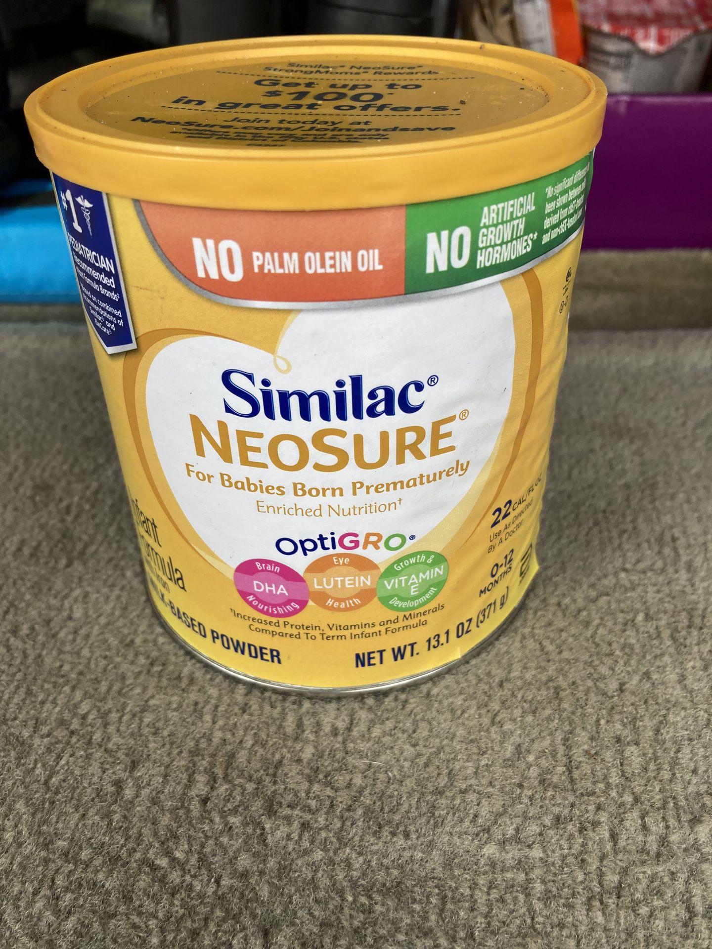 Similac 12.1 Oz Neosure 22 Calories Infant Formula
