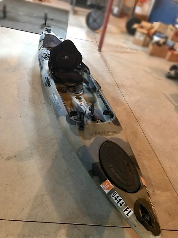 Field And Stream Eagle Talon 120 Fishing Kayak For Sale In