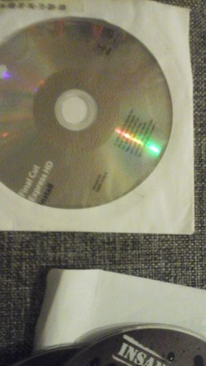 Final Cut Express HD software disc Apple for Sale in Baltimore, MD