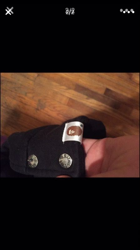 Bape jacket size medium fits a small authentic