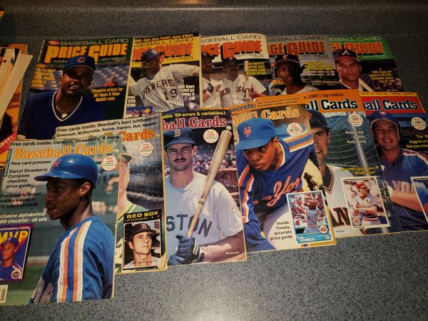 11 Baseball Card Price Guides That Have Bonus Cards Inside For Sale In Mckees Rocks Pa Offerup