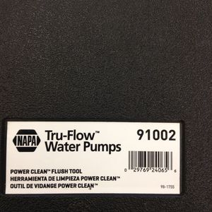 NAPA POWER CLEAN RADIATOR FLUSH TOOL KIT for Sale in Aurora, CO - OfferUp