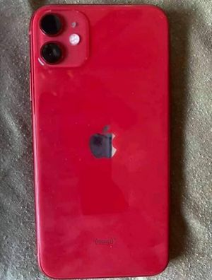 Photo I phone 11 red 64gb