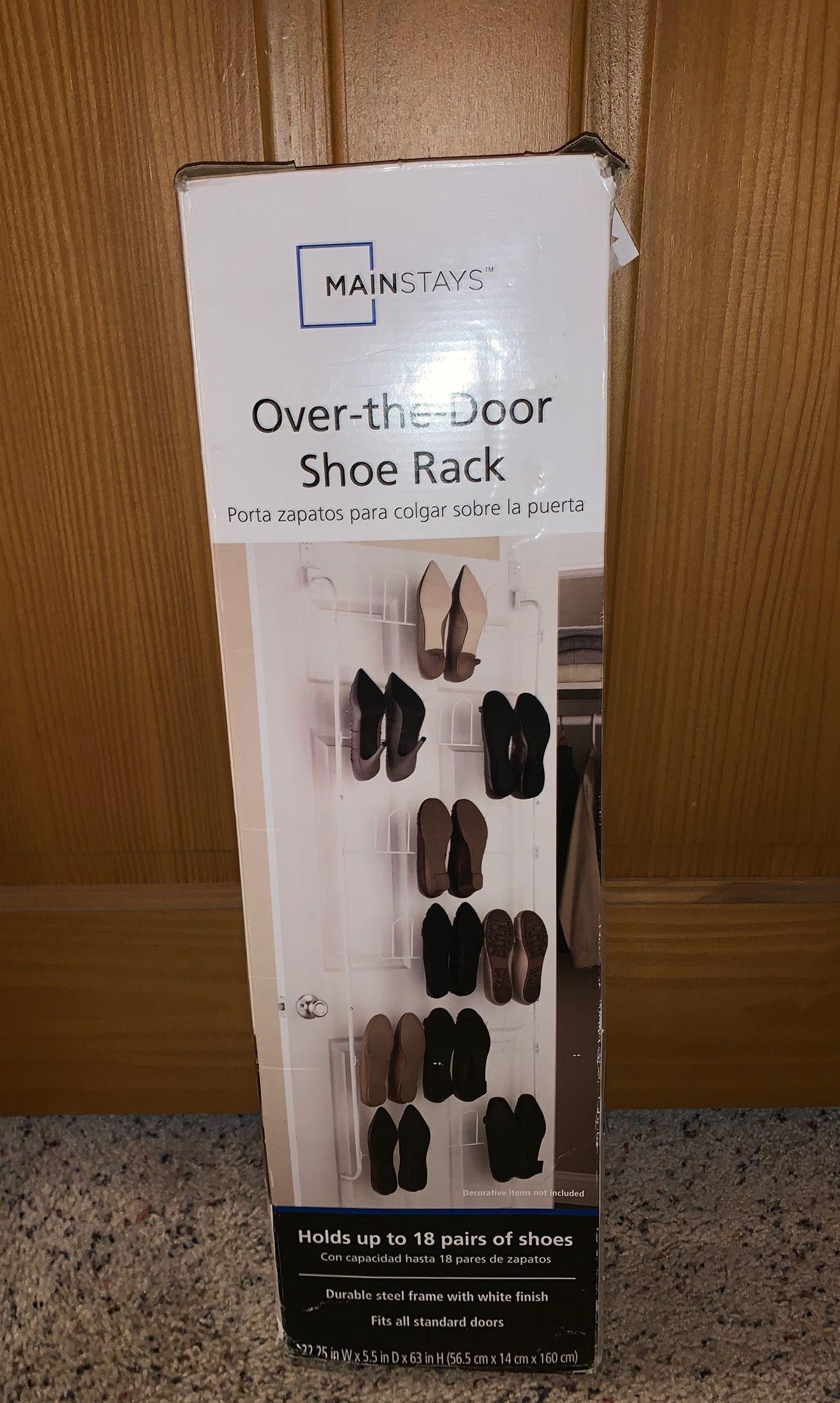 Mainstays Over-the-Door Shoe Rack
