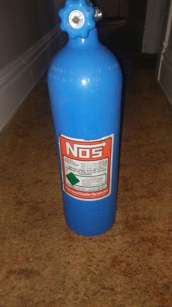 Nitrous Oxide For Sale >> 50 Lbs Aluminum Racing Nitrous Oxide Cylinder For Sale In Ambridge Pa Offerup