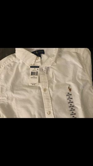 XL Boys short sleeve Ralph Lauren button up with classic horse for Sale in Washington, DC