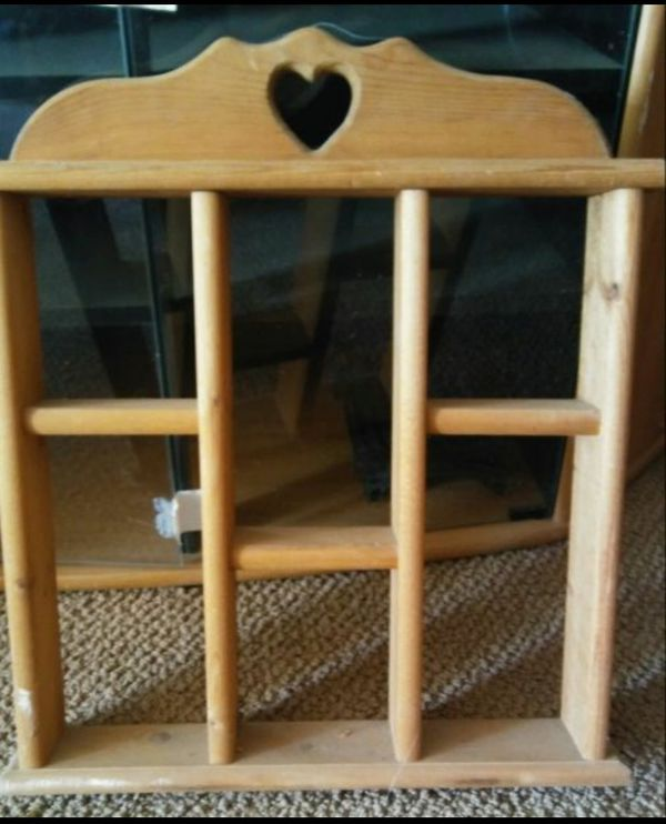 Hanging Wooden Knick Knack Shelf For Sale In Columbus Oh Offerup