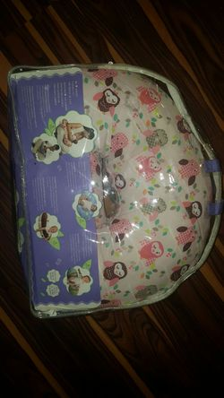 NEW Boppy Pillow with Owls covered Thumbnail