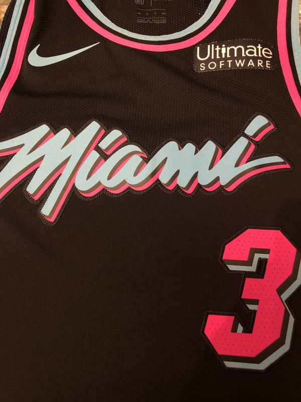 finest selection 374d3 0d5b1 AUTHENTIC Wade Vice Nights Jersey for Sale in Miami, FL - OfferUp
